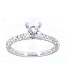 SEMI MOUNT ENGAGEMENT RING (TR3411A)
