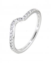 CURVED WEDDING BAND (TR1148B)