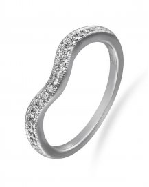 CURVED WEDDING BAND (TR1723B)