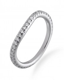CURVED WEDDING BAND (TR2380B)