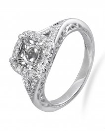 SEMI MOUNT ENGAGEMENT RING (TR2385A)