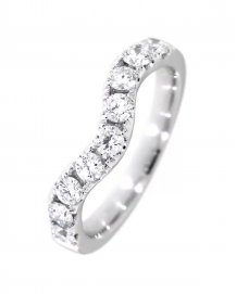 CURVED WEDDING BAND (TR2432B)