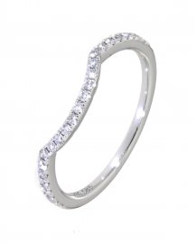 CURVED WEDDING BAND (TR2858B)