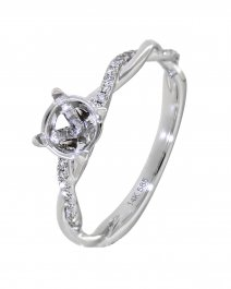 SEMI MOUNT DIAMOND RING (TR3414A)