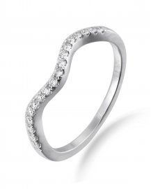 DIAMOND WEDDING BAND (TR672B)