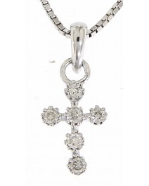 CROSS DIAMOND PENDANT (KP144)