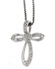 CROSS DIAMOND PENDANT (SP401)