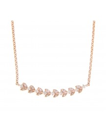 FLORAL DIAMOND NECKLACE (TN211)