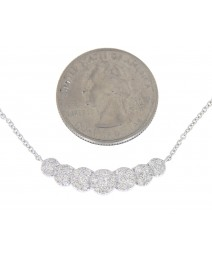 ROUND DIAMOND NECKLACE (TN257)
