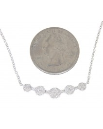ROUND DIAMOND NECKLACE (TN281)