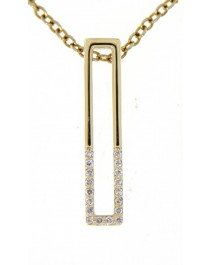 RECTANGLE DIAMOND PENDANT (TP1843)
