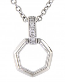 HEXAGON DIAMOND PENDANT (TP1844)