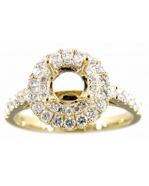 SEMI MOUNT ENGAGEMENT RING (TR1009)