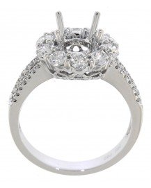 SEMI MOUNT ENGAGEMENT RING (TR1019)