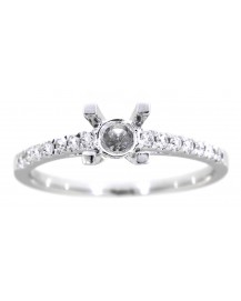 SEMI MOUNT ENGAGEMENT RING (TR1025)