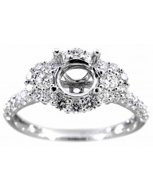 SEMI MOUNT ENGAGEMENT DIAMOND RING (TR1028)
