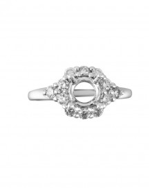 SEMI MOUNT ENGAGEMENT DIAMOND RING (TR1035)