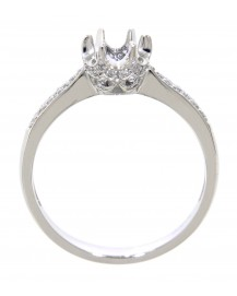 SEMI MOUNT ENGAGEMENT RING (TR1207)