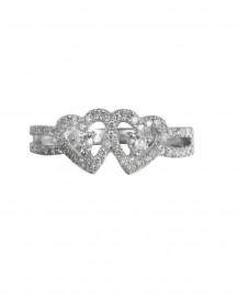 HEART SHAPE DIAMOND RING (TR1469)