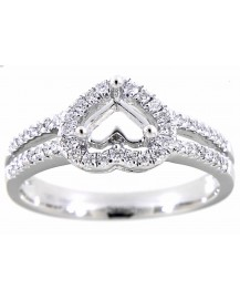 HEART DIAMOND RING (TR1498)