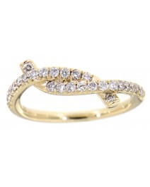 TWISTED DIAMOND BAND (TR1670)