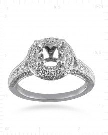 SEMI MOUNT ENGAGEMENT RING (TR1723A)