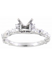 SEMI MOUNT ENGAGEMENT RING (TR1734A)
