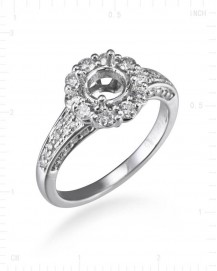 SEMI MOUNT ENGAGEMENT RING (TR1740)