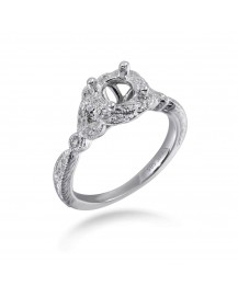 SEMI MOUNT ENGAGEMENT RING (TR2040A)