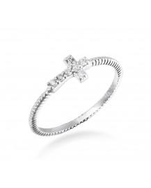 CROSS DIAMOND RING (TR2204)