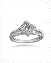 SEMI MOUNT ENGAGEMENT RING (TR2239A)