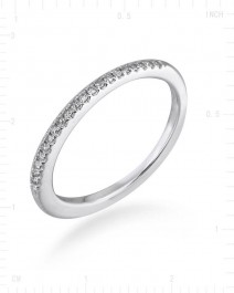 SIMPLE WEDDING BAND (TR2384B)