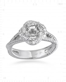 SEMI MOUNT ENGAGEMENT RING (TR2393A)