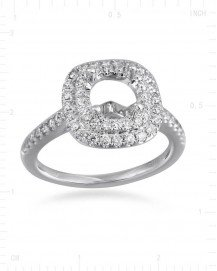 SEMI MOUNT ENGAGEMENT RING (TR2395A)