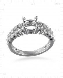 SEMI MOUNT ENGAGEMENT RING (TR2479A)