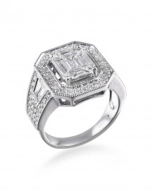 VINTAGE DIAMOND RING (TR2553)