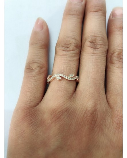 FLORAL DIAMOND RING (TR2573)