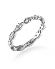 DIAMOND WEDDING BAND (TR2612)
