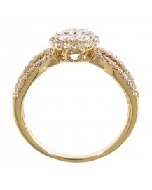 CLUSTER DIAMOND RING (TR2689)