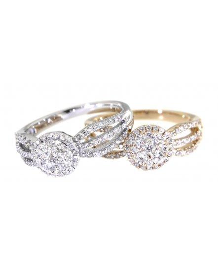 CLUSTER DIAMOND RING (TR2689)
