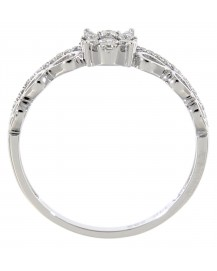 ROUND DIAMOND RING (TR2844)