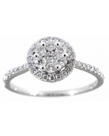 CLUSTER DIAMOND RING (TR2851)