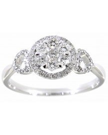 CLUSTER DIAMOND RING (TR2852)