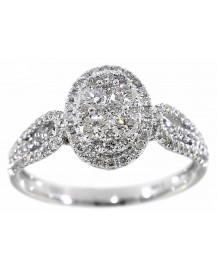CLUSTER DIAMOND RING (TR2961)