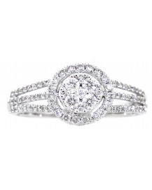 ROUND DIAMOND RING (TR3037)