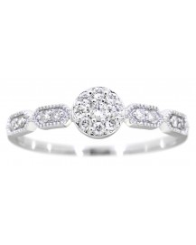 SIMPLE DIAMOND RING (TR3043)