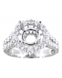 SEMI-MOUNT DIAMOND RING (TR3070)