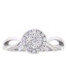 CLUSTER DIAMOND RING (TR3071)
