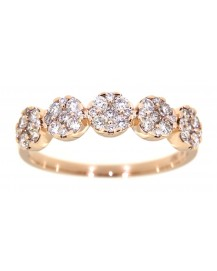 ROUND DIAMOND RING (TR3091)