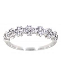 FLORAL DIAMOND RING (TR3164)
